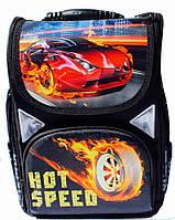 Ранец Рюкзак каркасный школьный ортопедический Hot Wheels JOSEF OTTEN JO 1720