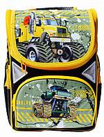 Ранец Рюкзак каркасный школьный ортопедический Hot Wheels JOSEF OTTEN JO 1721