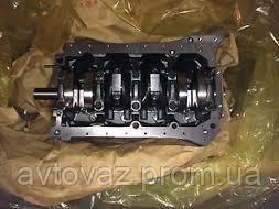 Блок цилиндров ВАЗ 21213 Нива 1.7 литра 8 клапанов карбюратор в сборе