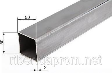 Труба квадратная  50х50х2,0 мм