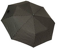 Мужской зонт полуавтомат 3708A black