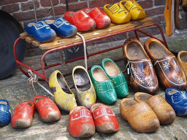голландські дерев'яні черевики