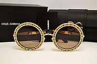 Солнцезащитные очки Dolce & Gabbana Lux Mambo 2182 (золото)