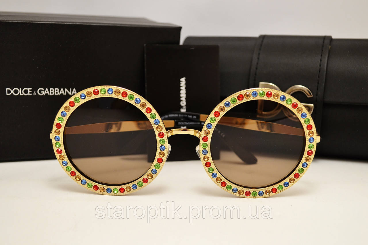 f1716fd94db6 Солнцезащитные очки Dolce   Gabbana Lux Mambo 2182 (золото) - Star Optik в  Одессе