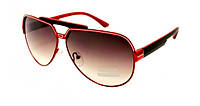 Очень модные женские очки от сонца  Aviator в красной оправе  Avatar
