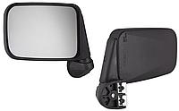 Зеркало автомобильное 01-07 WESEM  LW 019.03 прямое, темное стекло 1штука антиблик