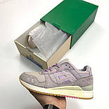 Женские кроссовки Asics Gel Lyte III Violet. Живое фото! Топ качество (Реплика ААА+), фото 2