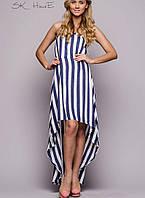 Летнее женское платье (Бренд Versace в полоску sk)