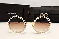 Солнцезащитные очки Dolce & Gabbana Lux 2173 (коричневый цвет)