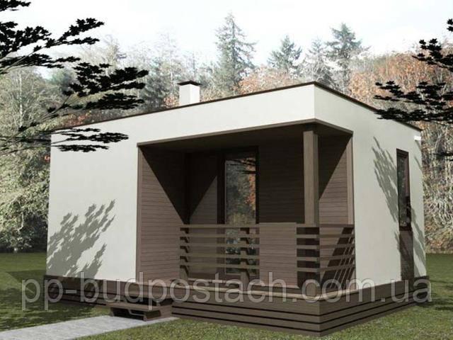 Проект гостьового будинку