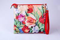 Текстильная сумка через плечо Tulips