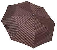 Мужской зонт полуавтомат 3708A brown