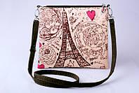 Текстильная сумка через плечо Paris