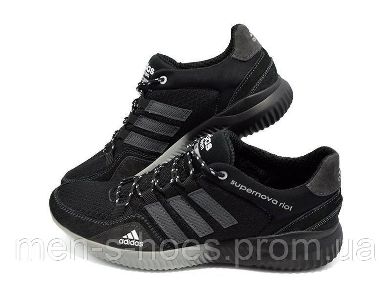Кроссовки мужские Adidas Supernova Riot Black
