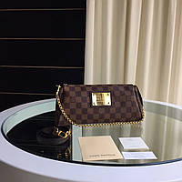 Женский клатч Louis Vuitton Eva Канва Damier Ebene, фото 1