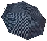 Мужской зонт полуавтомат 3708A blue