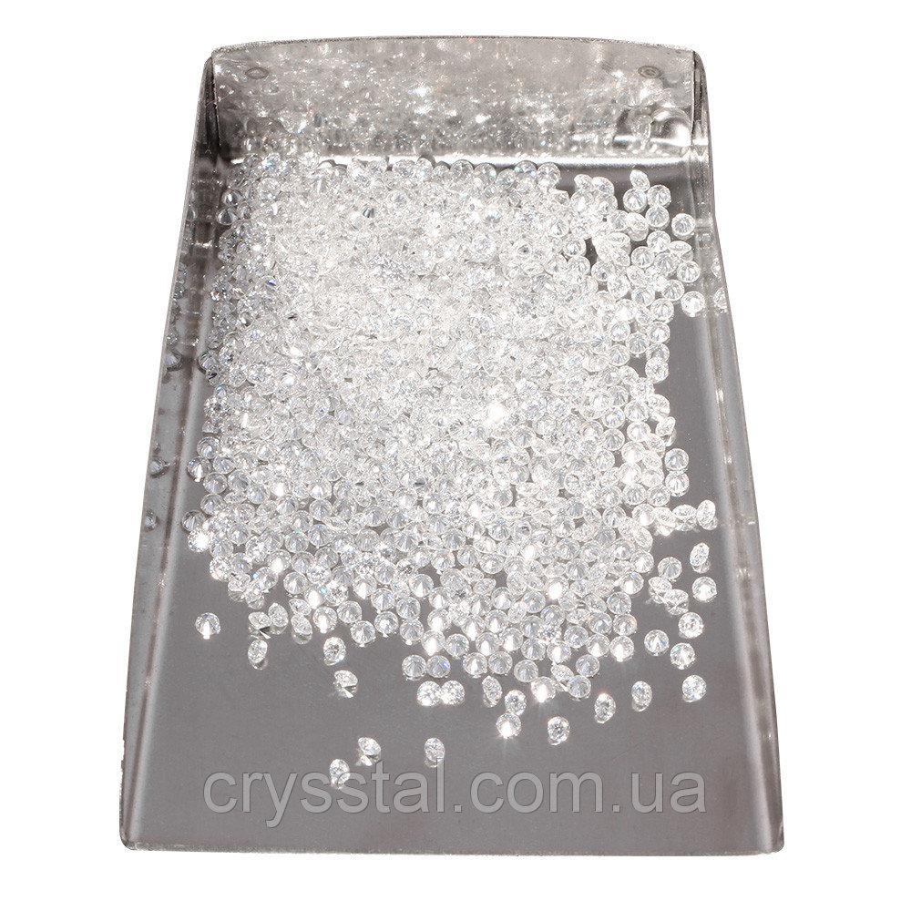 Moissanite Муассанит  чисто белый 2.5 mm.F