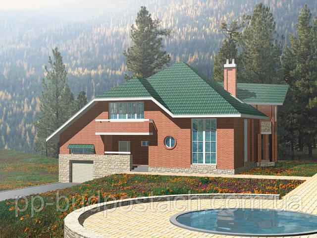 Проекти приватних будинків з лазнею