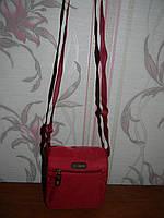 Бордовая мужская сумка Iber, фото 1