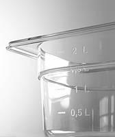 Гастроемкость из прозрачного поликарбоната Hendi GN1/4 - 65