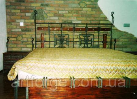 Кованая кровать ПА 002