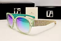 Солнцезащитные очки Linda Farrow Lux 532 (зеленый хамелеон)