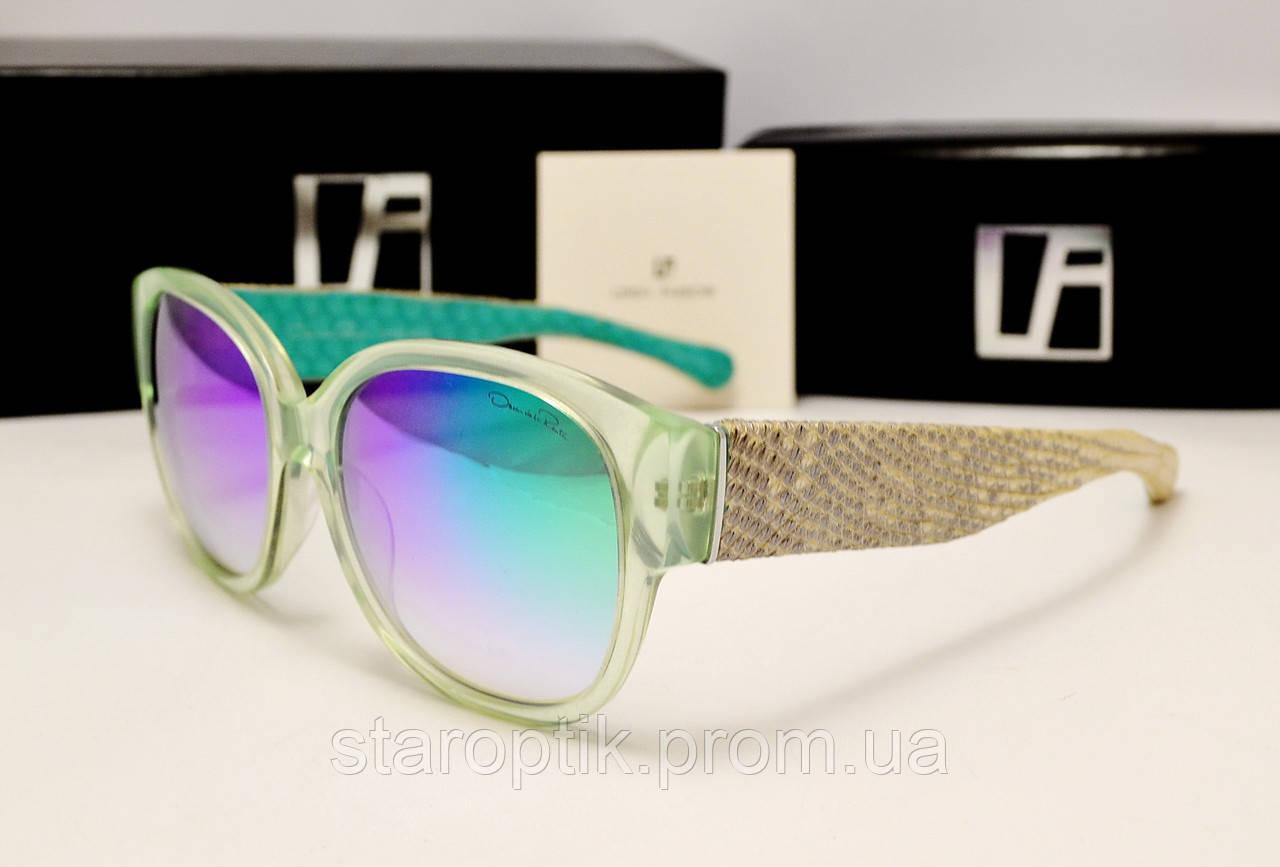Солнцезащитные очки Linda Farrow Lux 532 (зеленый хамелеон), фото 1