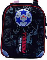 Ранец Рюкзак школьный ортопедический черепашка Футбол14104