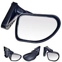 Зеркала боковые ВАЗ 2101-07 Капля  болт W-4 1 ножка черный матовый не складное, фото 1