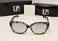 Солнцезащитные очки Linda Farrow Lux 532 (лео с зеркальной линзой)