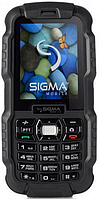 Sigma mobile X-treme DZ67 Travel black IP67 (с функцией Walkie-Talkie)