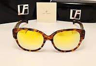 Солнцезащитные очки Linda Farrow Lux 532 (коричневый лео)