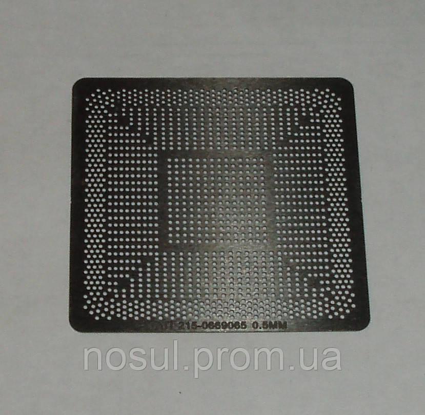 BGA шаблоны ATI 0.5 mm 215-0669065 трафареты для реболла реболинг набор восстановление пайка ремонт прямого на