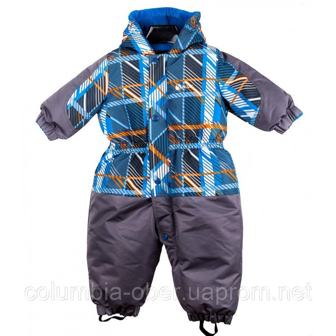 Зимний комбинезон для мальчика Salve by Gusti SWG 2594. Размеры 74 - 98.