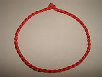 Красная нить от сглаза с листиком, фото 1