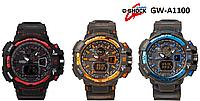 Мужские электронные часы в стиле Casio G-Shock GW-A1100