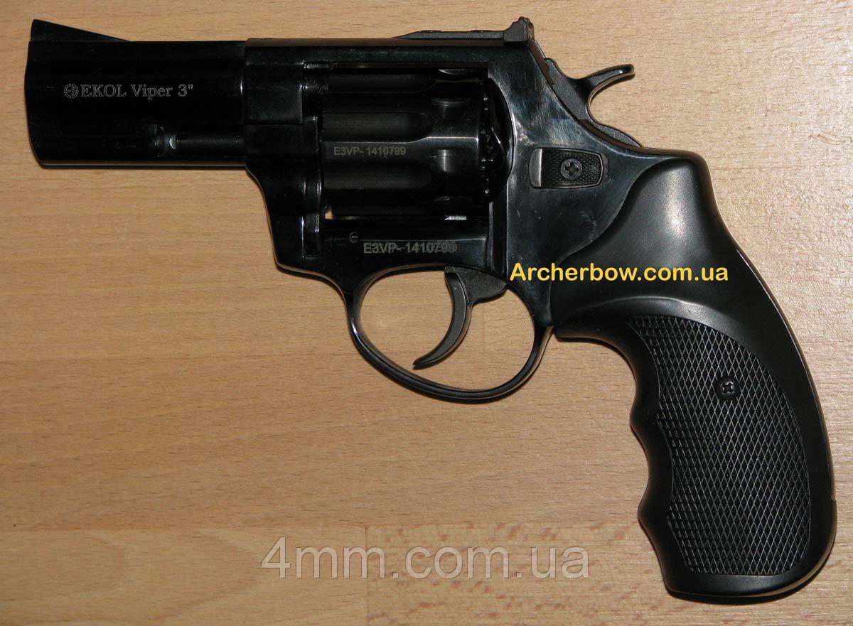 """Револьвер под патрон Флобера Ekol Viper 3"""" (Обновлённый)"""