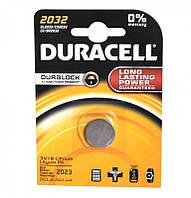 Батарейка DURACELL CR 2032 2 BL
