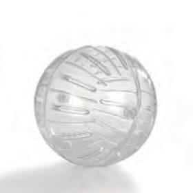 Pet Pro ПЛЕЙБОЛ прогулочный шар для хомяков, пластик, 17 см
