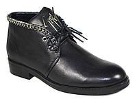 Стильные кожаные женские ботинки Giuseppe Zanotti