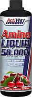 Жидкие аминокислоты Amino Liquid (разные вкусы) 1 литр ActiWay Nutrition