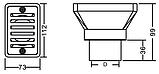 Всасывающая форсунка для перелива Emaux EM2819, фото 4