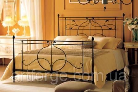 Кованая кровать ИК 039