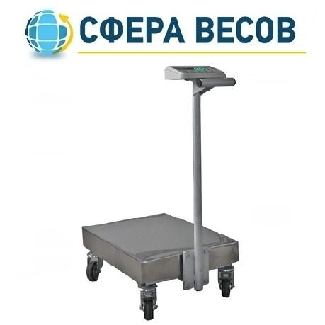 Весы тележка Техноваги ТВ1-12epa (200 кг - 600х700), фото 2
