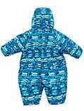 Зимний комбинезон для мальчика Salve by Gusti SWG 2600 Bright Green. Размеры 68 - 90., фото 2