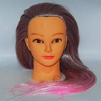 Манекен с искусственными термо-волосами