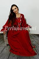 Платье с вышивкой 116-03