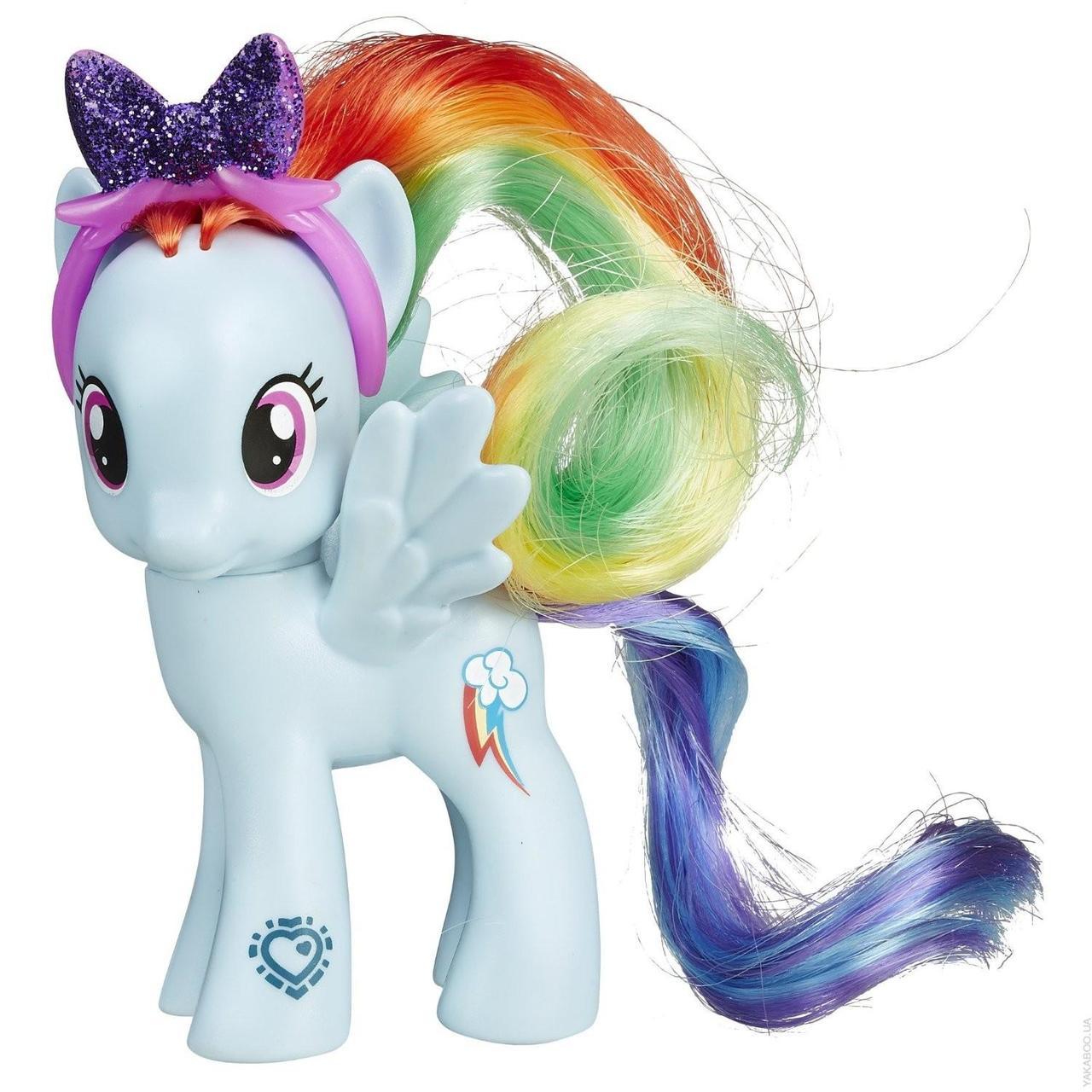 "My Little Pony  - Рейнбов Деш (Rainbow Dash Figure, серія ""EXPLORE EQUESTRIA"")"