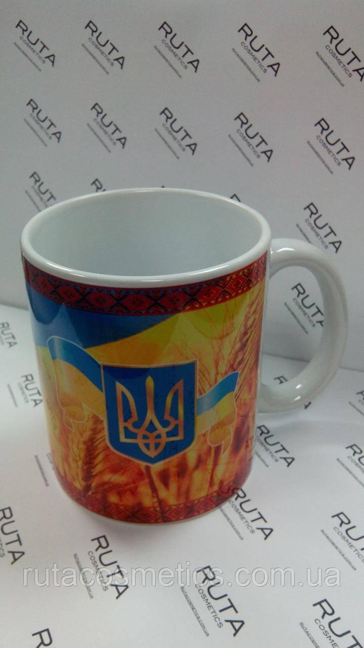 """Чашка """"Украинская символика"""""""