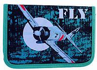 Пенал твердый Fly 1 отд. и 2 отвор. + расписание JO-17173